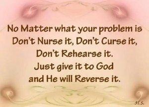 don't nurse it